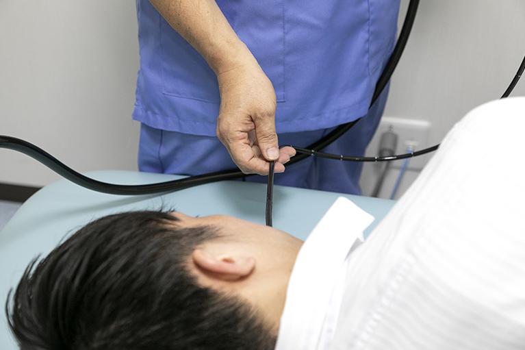 胃の内視鏡検査